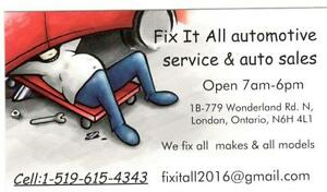 Fix It All Automotive service------519-615-4343 London Ontario image 1