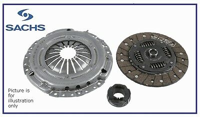 SACHS Clutch Kit for Citroen C2 C3 Nemo & Peugeot 206 207 1007 Bipper - 1.4 HDI