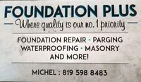 Foundation work and much more(Spring special) Hurry up and call!