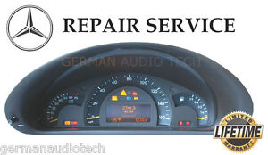 Mercedes benz w203 c230 c240 c320 instrument speedometer for Mercedes benz cluster repair