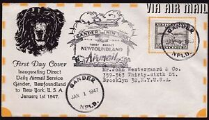 first day cover St. John's Newfoundland image 1