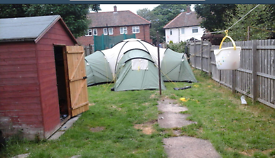 10 man dome tent