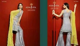 Asim jofa 100% Original luxury chiffon collection 2016 Maria b sobia nazir charizma