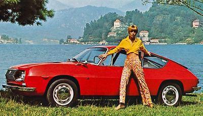 1969 Lancia Fulvia Sport Factory Photo J4308