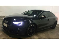 Black AUDI A5 HATCHBACK 1.8 2.0 TDI Diesel SPORT S LINE FROM £98 PER WEEK!