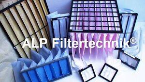 Filter Set G4 228x413x160 + F7 413x254x250 Hoval Homevent RS/FR250 Taschenfilter