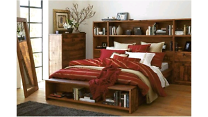 'Library' Queen Bed Springwood Logan Area Preview