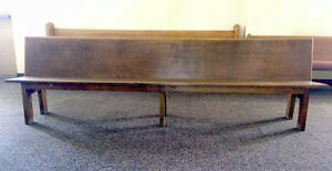 CHURCH PEWS / COURT BENCHES****$50.00 each****