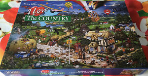 "MIKE JUPP CASSE-TÊTE ""I LOVE THE COUNTRY' GRANDE QUALITÉ- 1000"