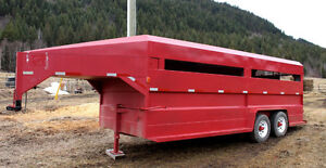 20ft Stock Trailer! Excellent Condition!