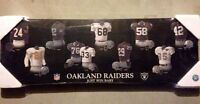 NFL Jersey Evolution Plaque  - Oakland Raiders (NEW)