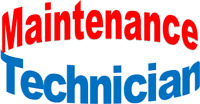 Maintenance Technician – Full time with great hours!