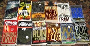 Lot of James Patterson Books $20