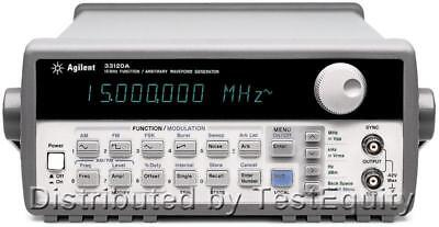 Hp Agilent 33120a Functionarbitrary Waveform Generator 15 Mhz