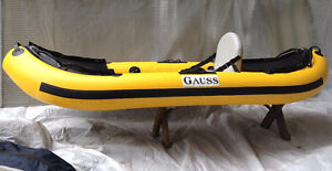 Inflatable Kayak - Yellow/Black North Shore Greater Vancouver Area image 2