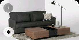 MADE walnut coffee table with storage