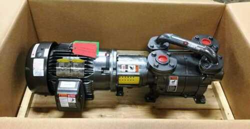 Travaini 7 ½ HP. Liquid Ring Vac. Pump  Two Stage Model TRHE40-140  Item #8747