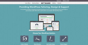 Get Noticed! Build A Website with The Best WordPress Tailors