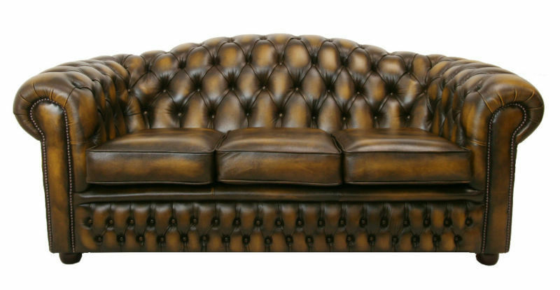 How To Care For Chesterfield Leather Furniture Ebay