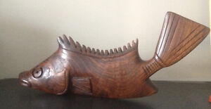 """The """"Fish"""" Vintage Delight - Authentic carving."""