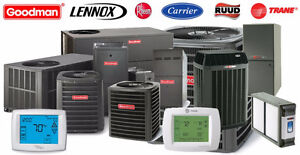 High Effieciency Furnace and Air Conditioner, we beat all prices
