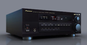 Pioneer 5.1 Surround or Stereo Receiver with Remote Control