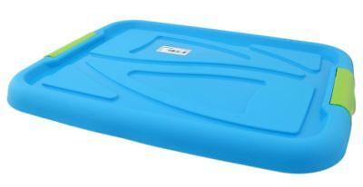 Deckel Verschluss für Aufbwahrungsbox Aufbewahrungskiste Box Blau 30 Liter ()