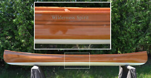 Wilderness Spirit - 2 Cane Seat Canoe - Beautiful