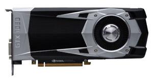Nvidia Geforce   GTX 1060 1070 1080 vidro card (brand new)