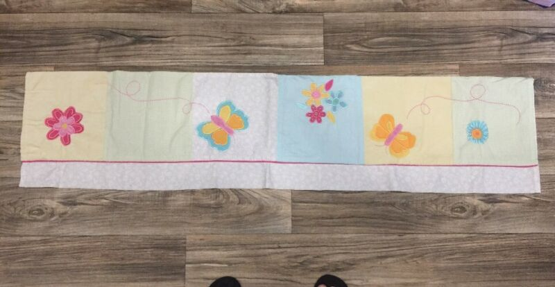 Kids Line Butterfly Flower Baby Valance