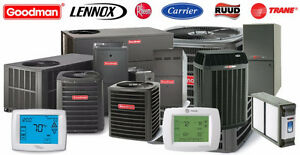 Furnace and Air Conditioner,  $2450 Rebate