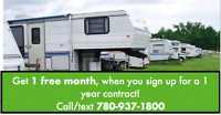One Stop RV Storage for all your storage needs! 780-937-1800
