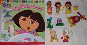 9 set of Qty 9 Dora Toys & Book 1 Set of Qty 9 Diego Toys & Book London Ontario image 6