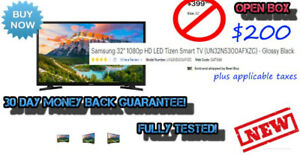 "$200 *NEW* SAMSUNG 32"" SMART TV UN32N5300AF <OPEN BOX>"
