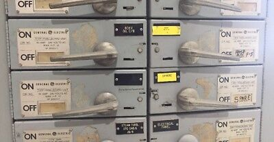 Ge Qmr Panelboard Double Switch Thfp222x 60 Amp 250 D.c.