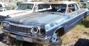 WANTED: 1964 Chevrolet Impala Biscayne Bel Air Parts Car $$$