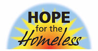 VOLUNTEERS NEEDED (HOPE FOR THE HOMELESS - PENTICTON)