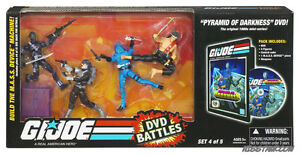 GI Joe 25th Anniversary comic packs