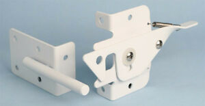 White Latch Set