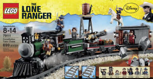 LEGO® THE LONE RANGER™ 79111: CONSTITUTION TRAIN CHASE