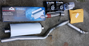 """07-17 Jeep Wrangler JKU 2.5"""" Stainless Cat-back exhaust System"""