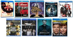 IDENTITY THIEF, ENDER's GAME, THE LOFT + 6 more blurays