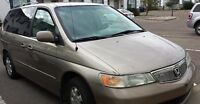 HONDA ODYSSE GOLDEN COLOR EXELLENT CONDITION well maintained I