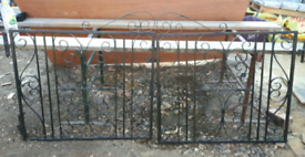 2 x sets of double gates