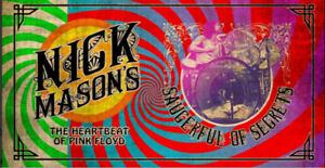 NICK MASON of Pink Floyd...a Pair of  tickets for TORONTO