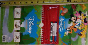 Mickey Mouse Activity Kit Set, 10 Dry Erase Pages - NEW London Ontario image 1