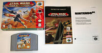 Star Wars Rouge Squadron N64 Complete in box