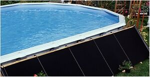 4'X20' Fafco Bear Solar Pool Heater Integrated Valve