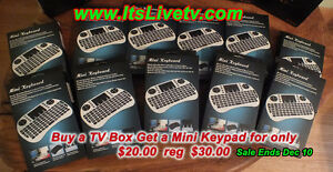 BLOW OUT SPECIAL:  Mini Keyboard and Mouse Combo
