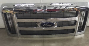 Ford Super Duty Chrome Grille Assembly